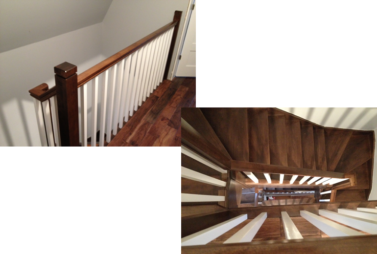 Randell Carpentry Ottawa Curved And Straight Stairs